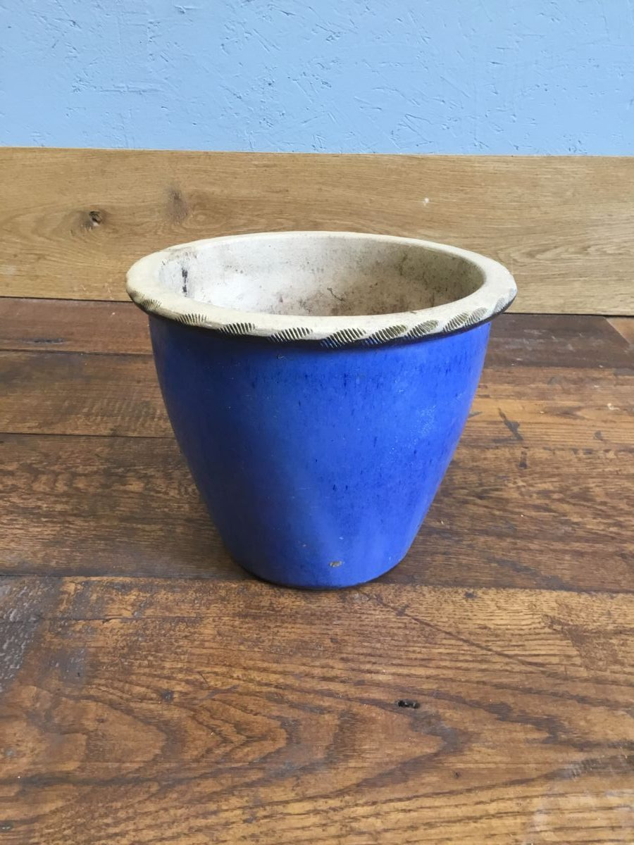 Bright Blue Pot