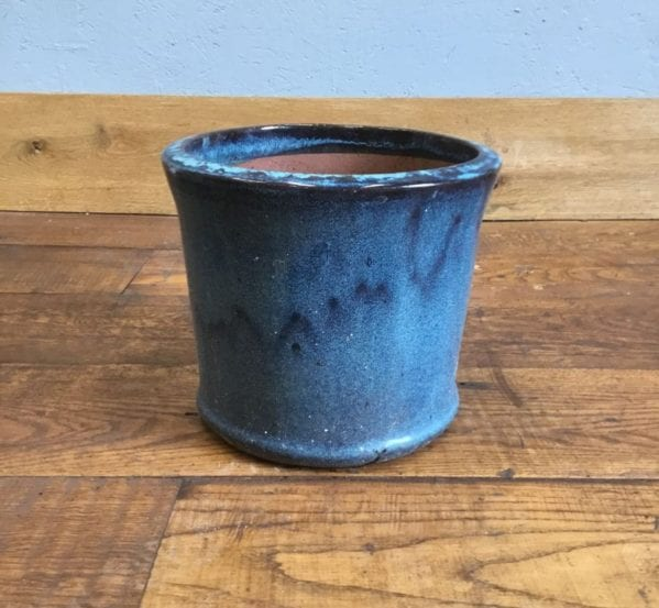 Marbled Blue Pot