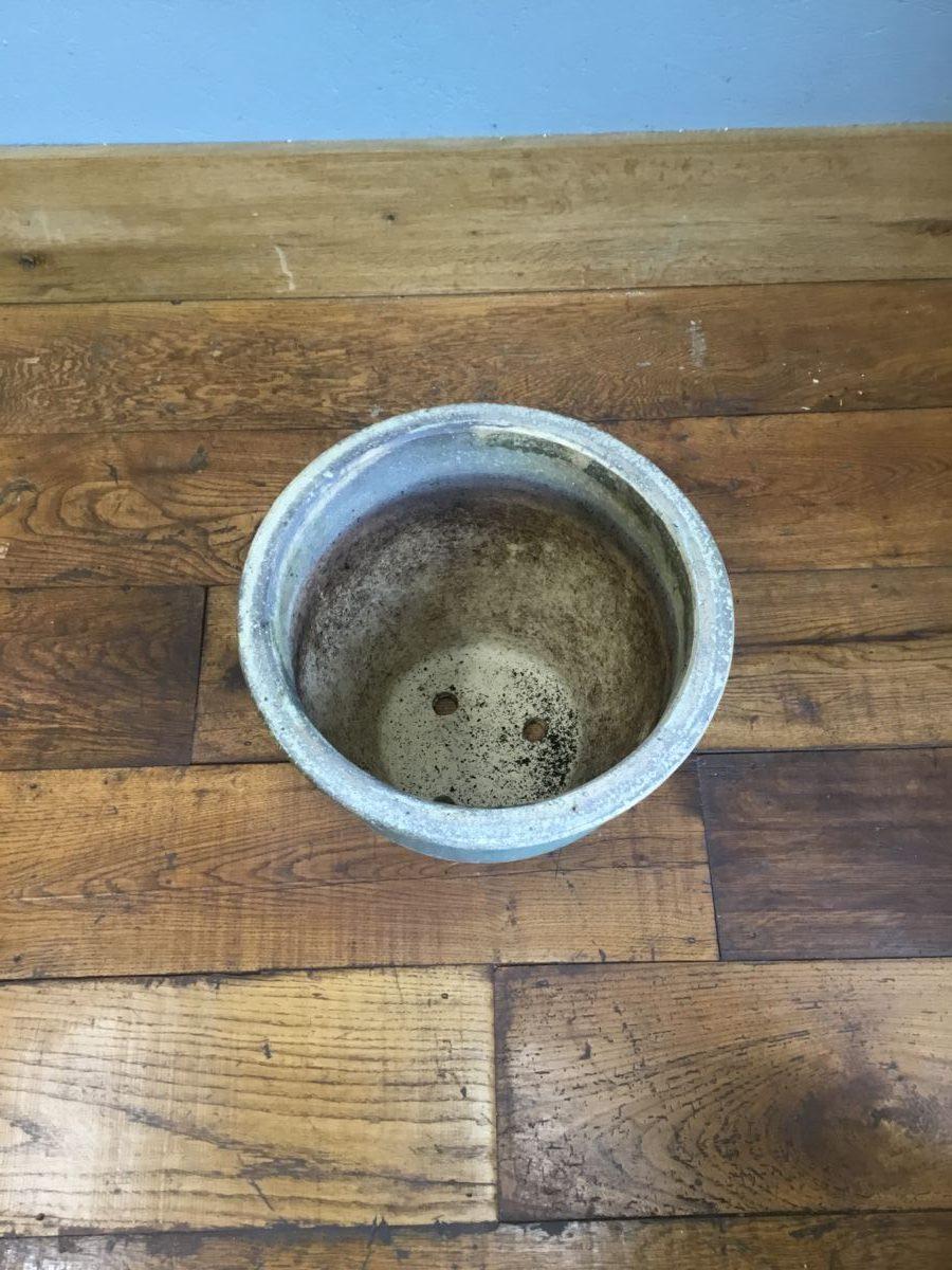Pale Blue Plant Pot