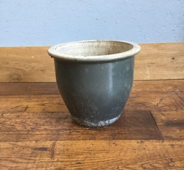 Dark Green Plant Pot