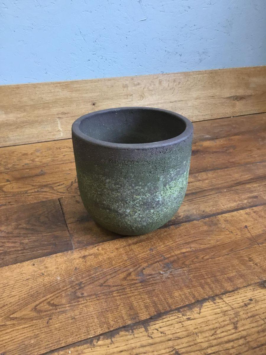 Small Concrete Round Planter