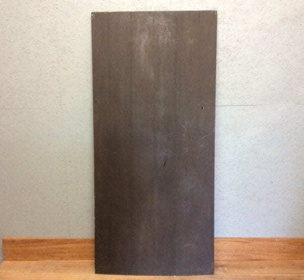 Ebony Stained Oak Door