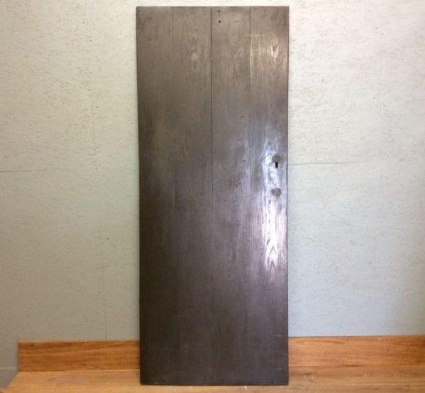 Ebony Stained Oak L & B Door