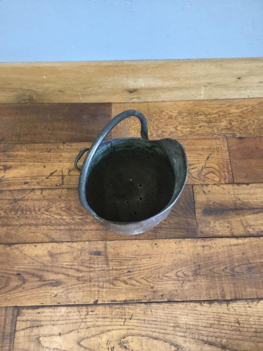 Copper Bucket Scuttle