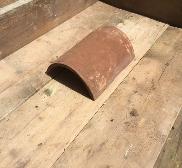 Handmade Ridge Roof Fitting