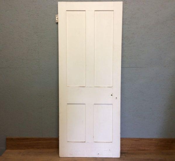 4 Panelled Door in White