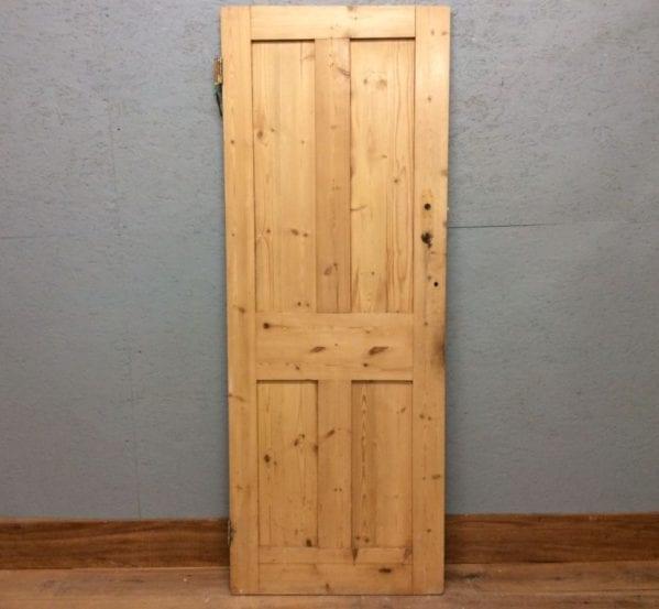 Strippped 4 Panelled Door