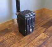 Small Wood Burner & Flue