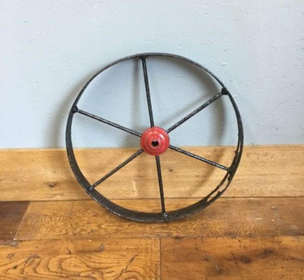 Black Wheel & Red Centre
