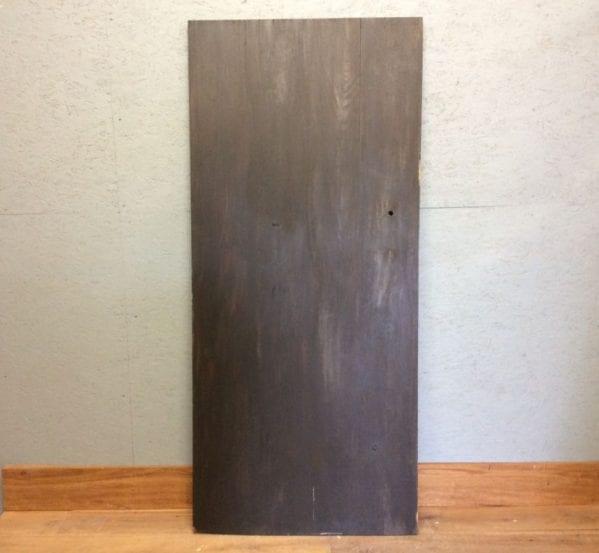 Oak Door Ebony Stained