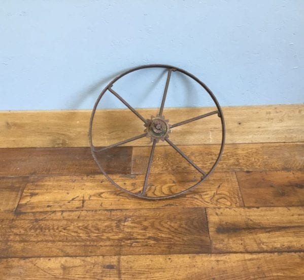 Thin Iron Wheel & Cog