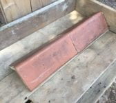 Large Reclaimed Pressed Clay Ridge Tile