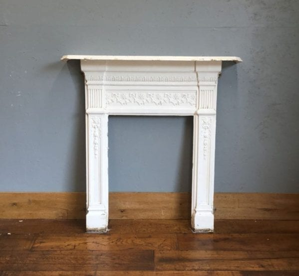 Cast Iron White Fire Surround
