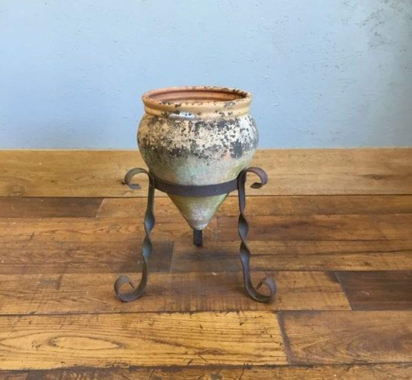 Terracotta Cone Planter & Stand