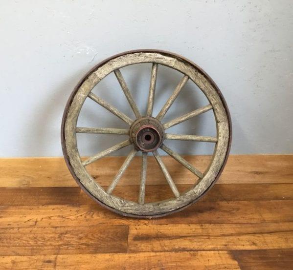 Wooden Wheel Iron Trim