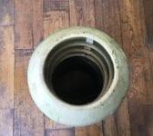 Louvred Buff Chimney Pot