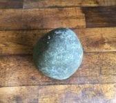 Round Solid Granite Feature Stone