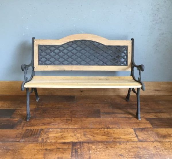 Refurbished Garden Bench