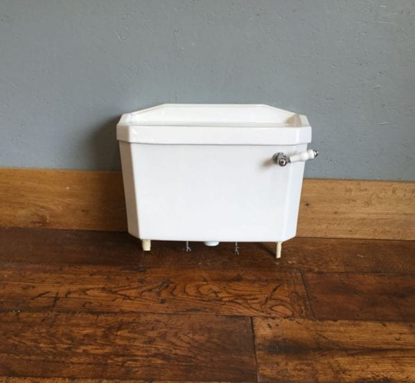 Heritage White Cistern
