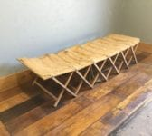 Military Campaign Bed