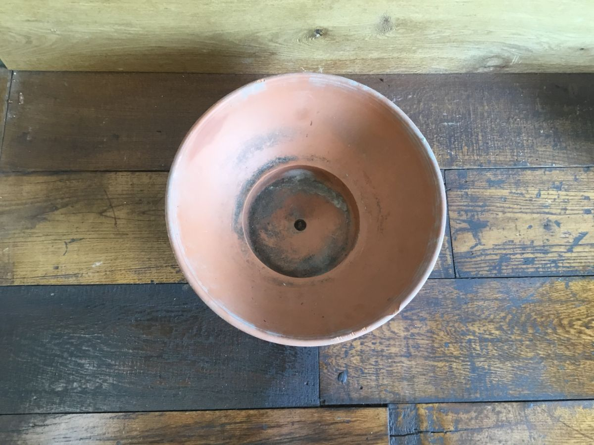 Wide Shallow Terracotta Pot