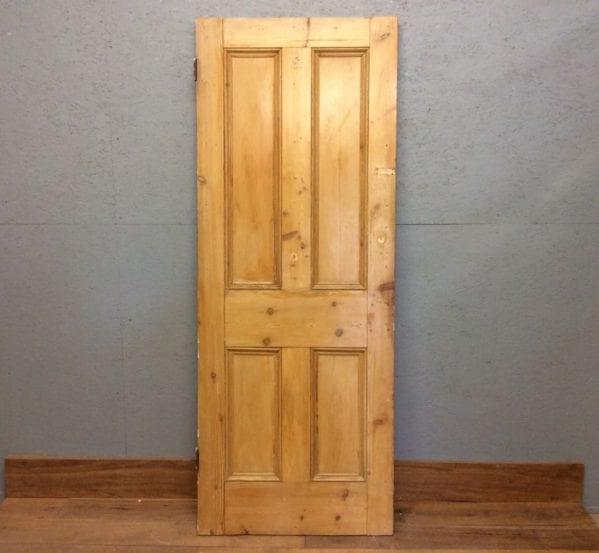 Stripped 4 Panelled Door
