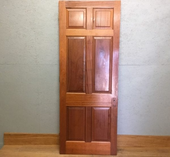 Mahogany Dark Door 6 Panels