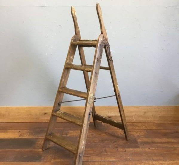 Vintage Wooden Simplex Ladder