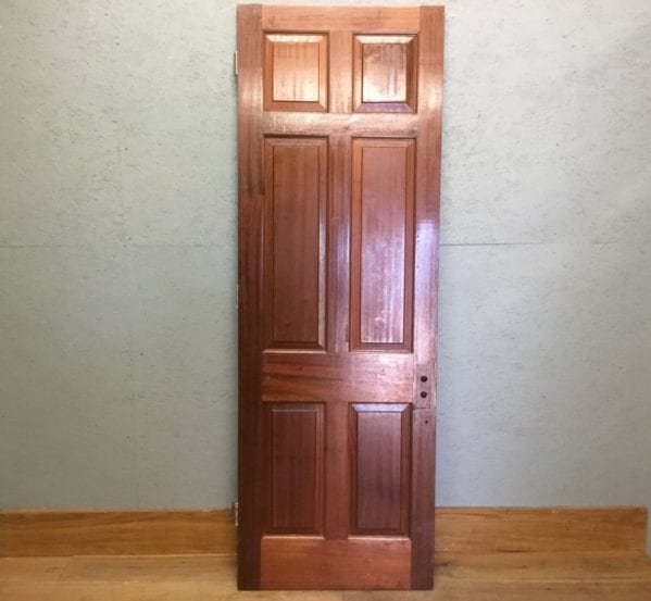 Mahogany 6 Panelled Door