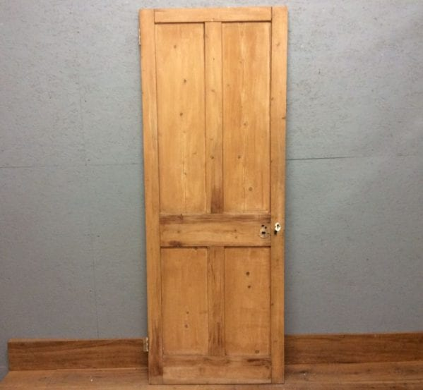 Plain Stripped 4 Panelled Door