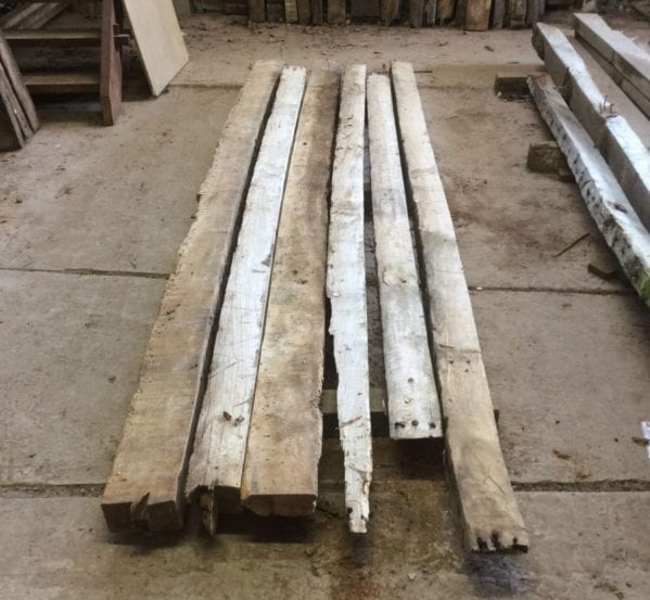Large Reclaimed Oak Beams
