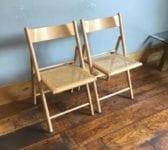 Ratan Chair Pair