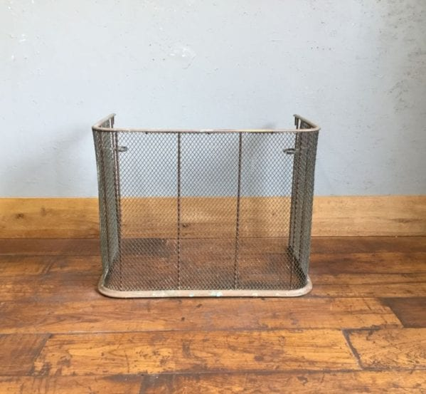 Large Copper Fire Screen