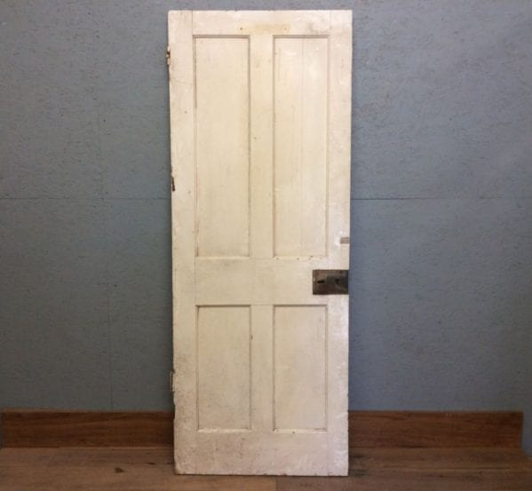 Four Panelled Door In White