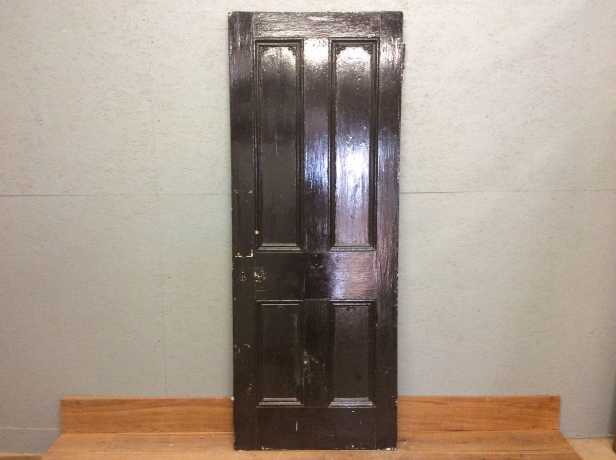 Black & White 4 Panel Door
