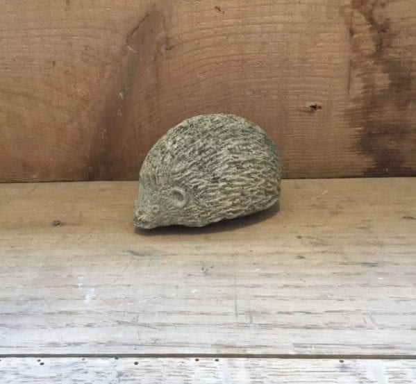 Small Hedgehog Stone Feature