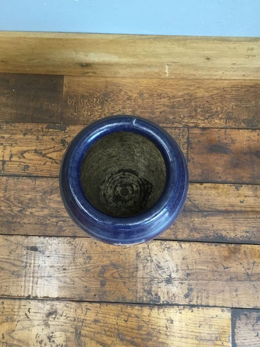 Blue Glazed Errington Reay Urn Planter