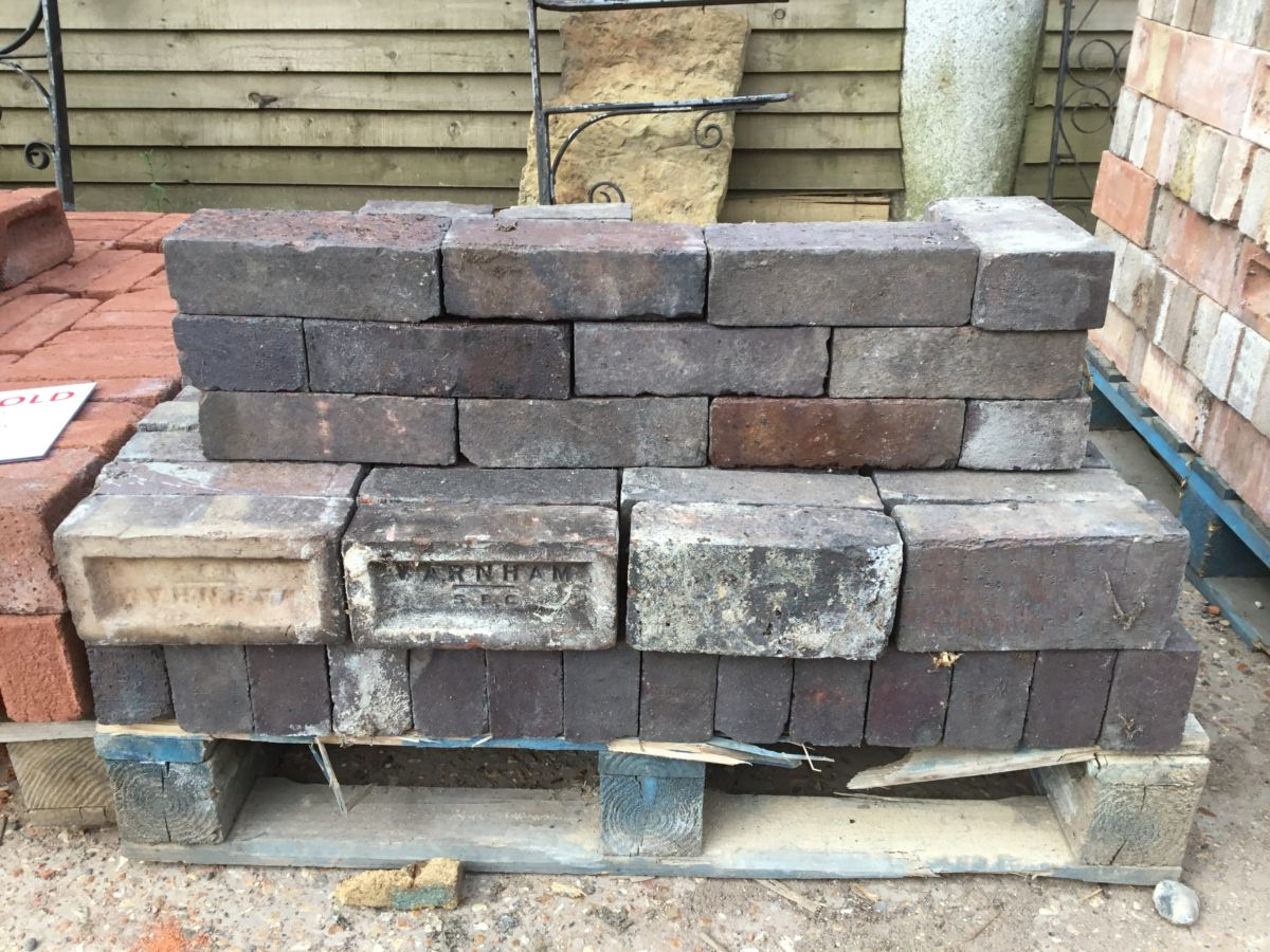 Reclaimed Staffordshire Blue Brick