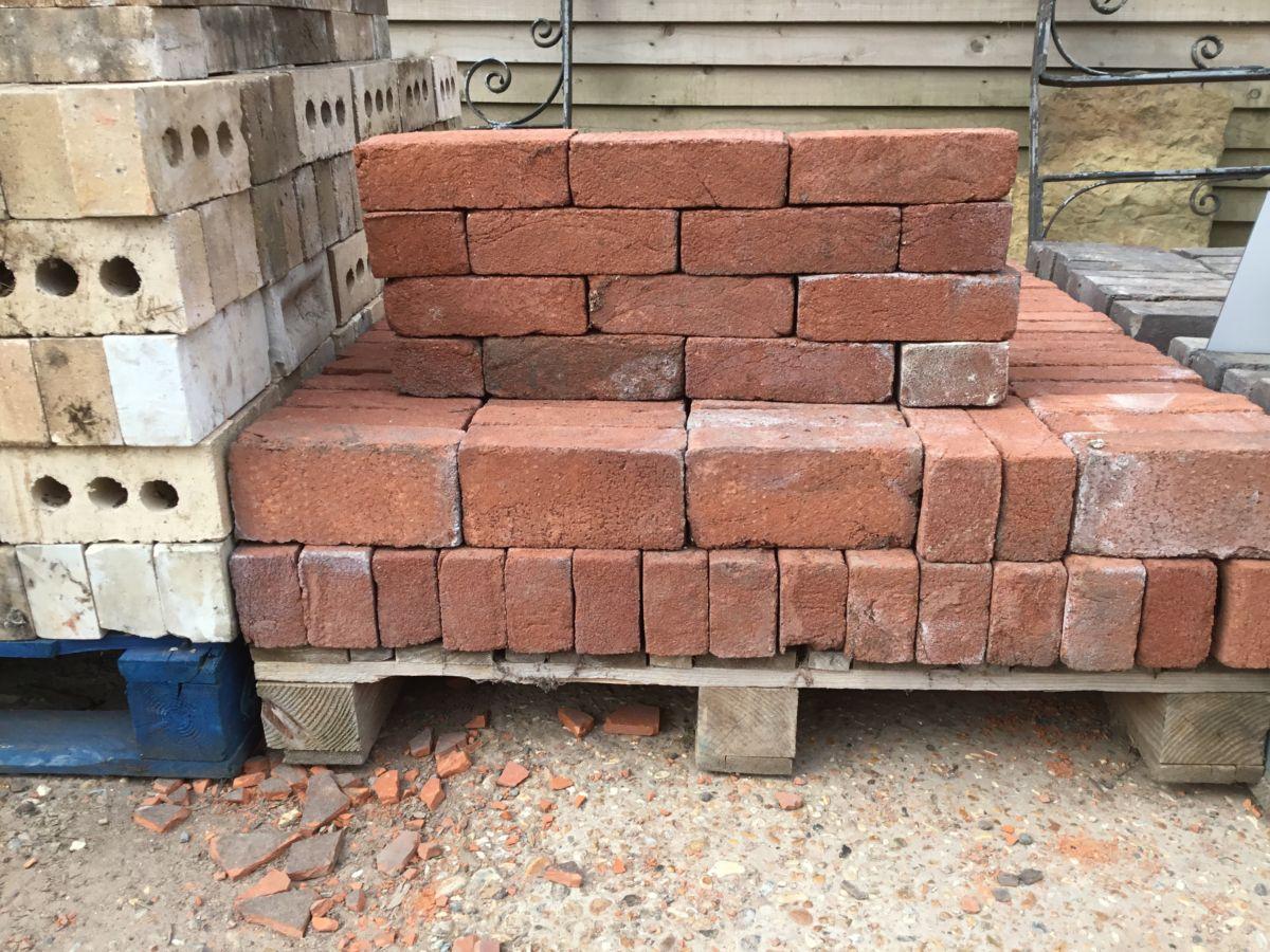 Reclaimed Reproduction Handmade Red Brick