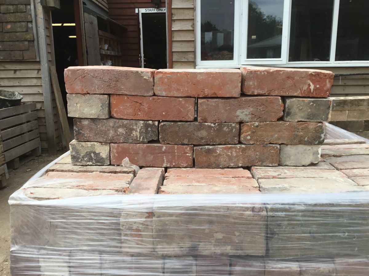 Reclaimed Kent Red Handmade Brick