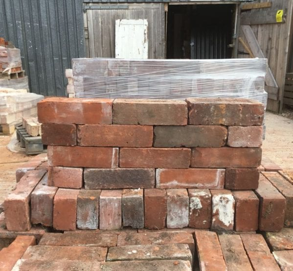 Reclaimed Modern Mixed Brick Batch