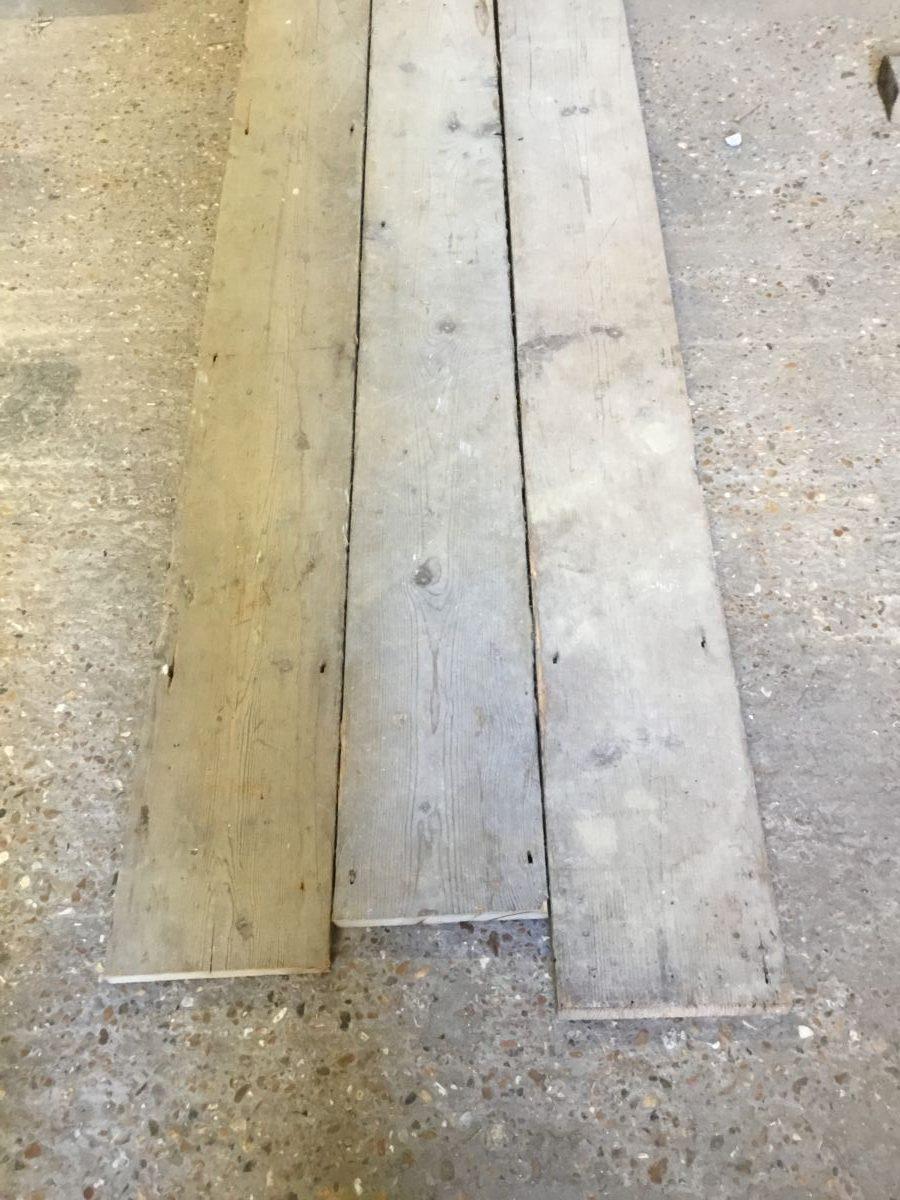 Reclaimed Rustic Pine Floorboards