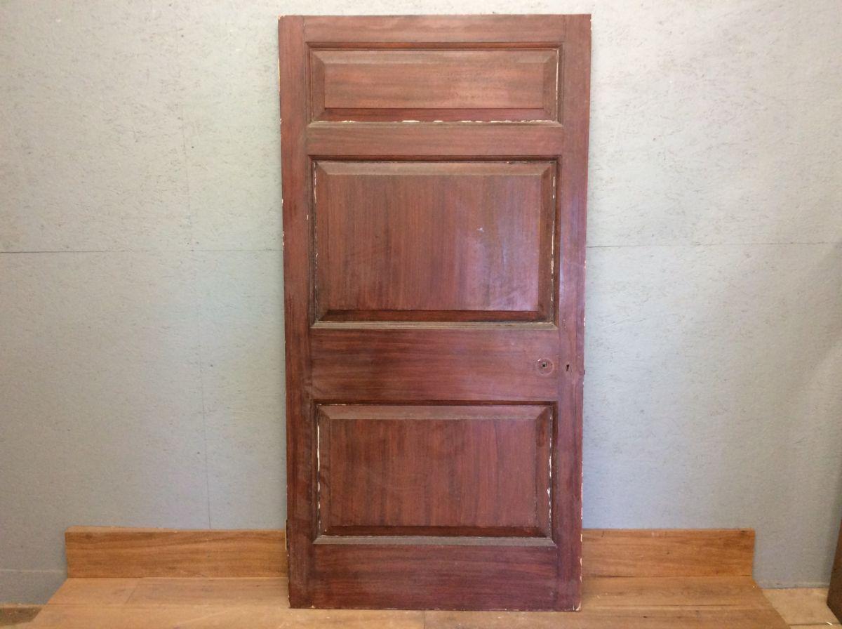 Half Painted 3 Panel Door