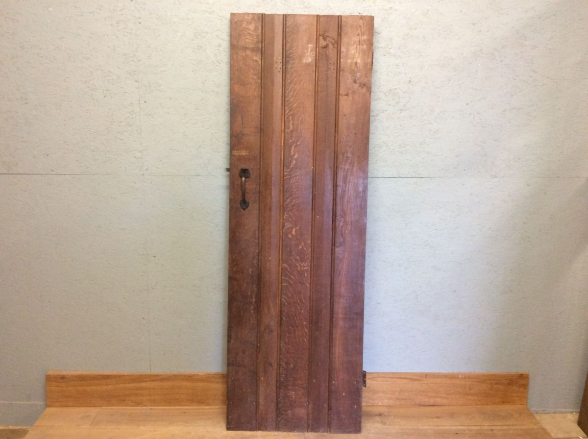 Ledge & Brace Oak Door