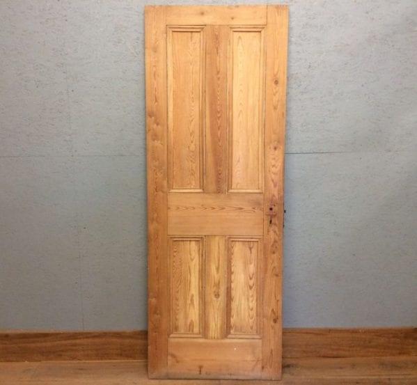 4 Panelled Stripped Door