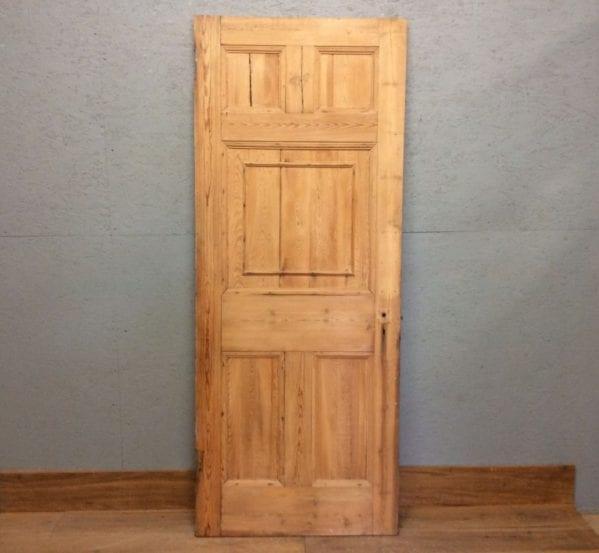 Stripped 5 Panelled Door