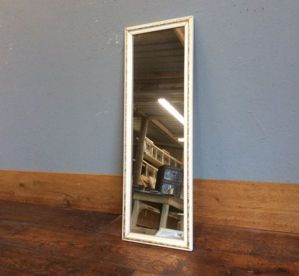 Narrow Wall Hung Mirror