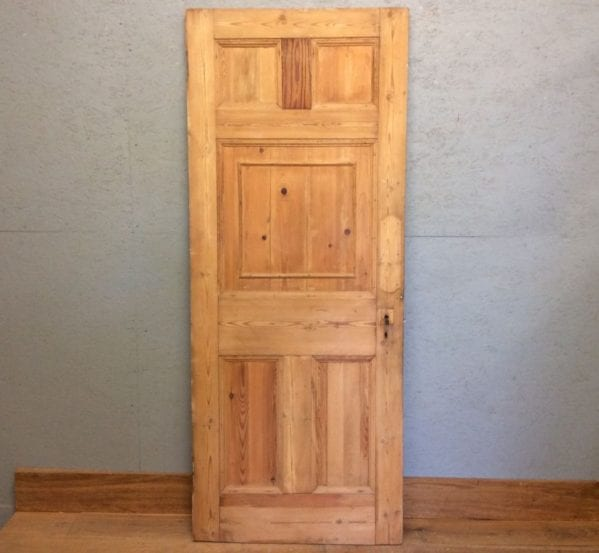 Stripped 5 Panelled Door
