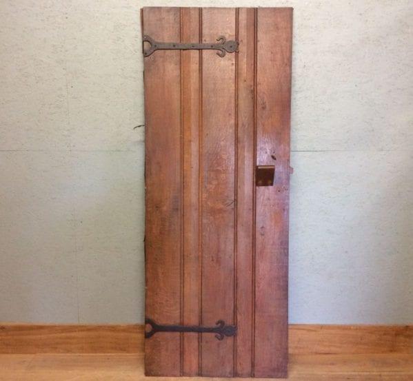Oak Ledge & Brace Door
