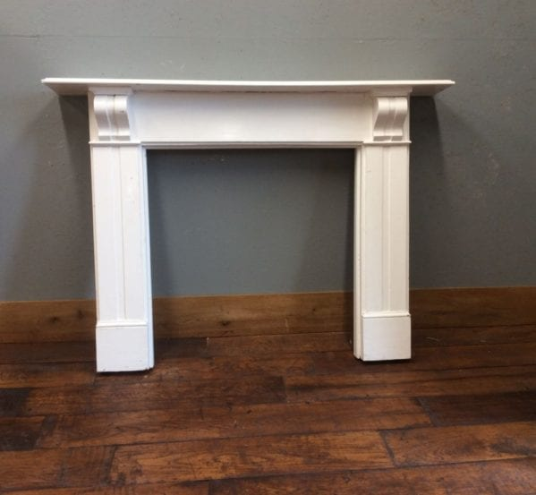 White Painted Pine Fire Surround